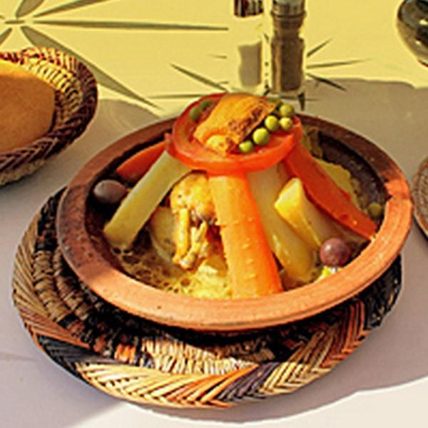 Tajine marocain Touareg, tagine artisanal