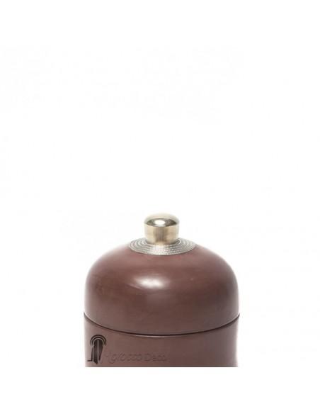 Boite ronde maissa marron