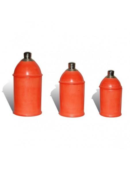 Boite tadelakt kasbah orange