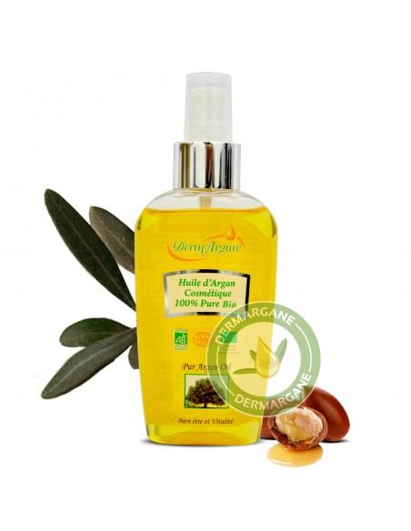 Huile d'Argan cosmétique pure 100% bio - 125 ml