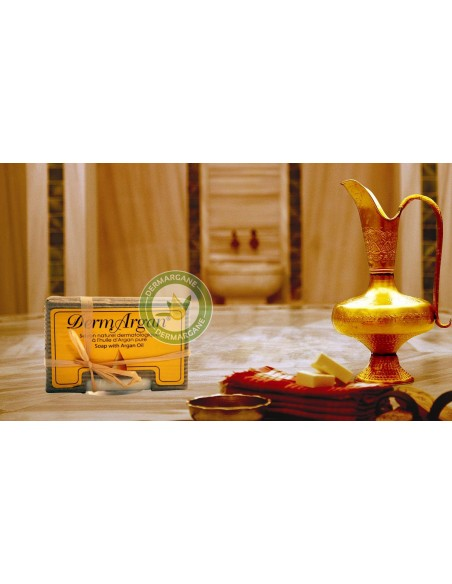 Savon Dermathologique à l'huile d'Argan