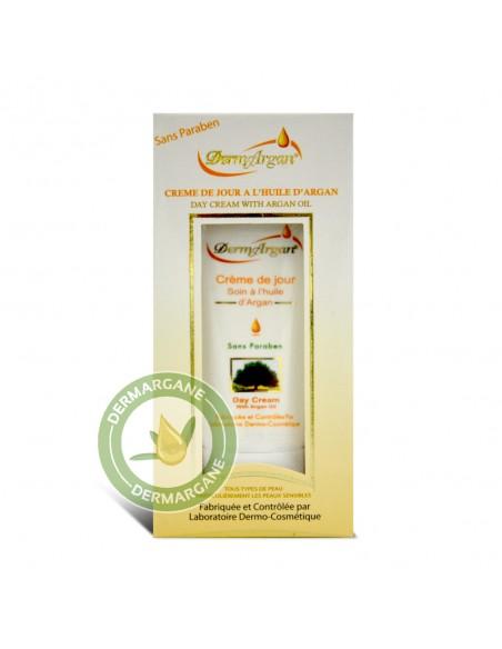 Crème hydratante de jour à l'huile d'Argan Bio