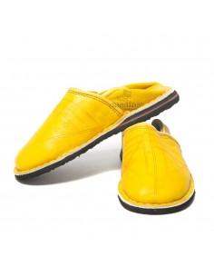 https://moroccodeco.com/babouche-touareg-enfant-mixte-couleur-jaune