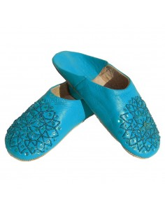 https://moroccodeco.com/babouche-paillettes-brodees-babouche-femme-modele-galia-turquoise