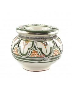 https://moroccodeco.com/cendriers/820-cendrier-marocain-fait-main-vert-et-orange-incruste-et-cercle-de-metal-poli-et-torsade.html