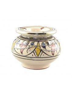 https://moroccodeco.com/cendriers/823-cendrier-marocain-fait-main-bleu-jaune-et-rouge-incruste-et-cercle-de-metal-poli-et-torsade.html