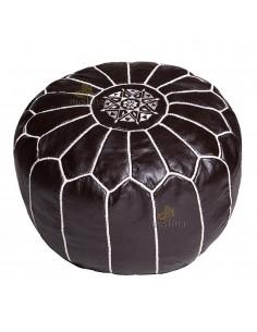 https://moroccodeco.com/poufs/414-pouf-design-cuir-marocain-noir-et-coutures-blanches-pouf-en-cuir-veritable-fait-main.html