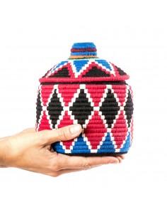 https://moroccodeco.com/boite-vintage-24-cousue-et-tissee-au-fil-de-laine-dans-les-tons-rouge-noir-et-bleu