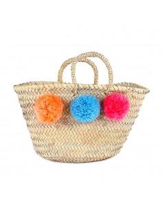 https://moroccodeco.com/paniers/745-panier-marocain-design-avec-poignees-en-corde-tressee-et-pompons-orange-bleu-et-rose.html