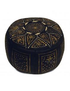 https://moroccodeco.com/poufs/256-pouf-fassi-en-cuir-noir-et-dore.html
