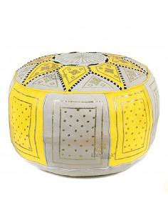 https://moroccodeco.com/poufs/257-pouf-fassi-en-cuir-jaune-et-blanc-pouf-marocain-en-cuir-veritable-fait-main.html
