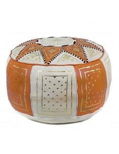 https://moroccodeco.com/poufs/258-pouf-fassi-en-cuir-orange-et-blanc-pouf-marocain-en-cuir-veritable-fait-main.html