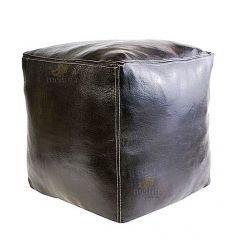 https://moroccodeco.com/poufs/8-pouf-marocain-cube-noir-pouf-carre-artisanal-en-cuir-veritable.html