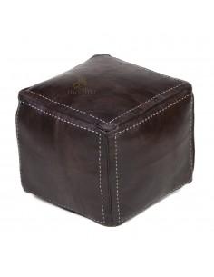 https://moroccodeco.com/poufs/281-pouf-carre-marron-chocolat-en-cuir-surpique-pouf-haute-qualite-entierement-fait-main.html