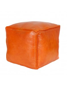 https://moroccodeco.com/pouf-carre-couleur-orange-en-cuir-surpique-pouf-haute-qualite-entierement-fait-main
