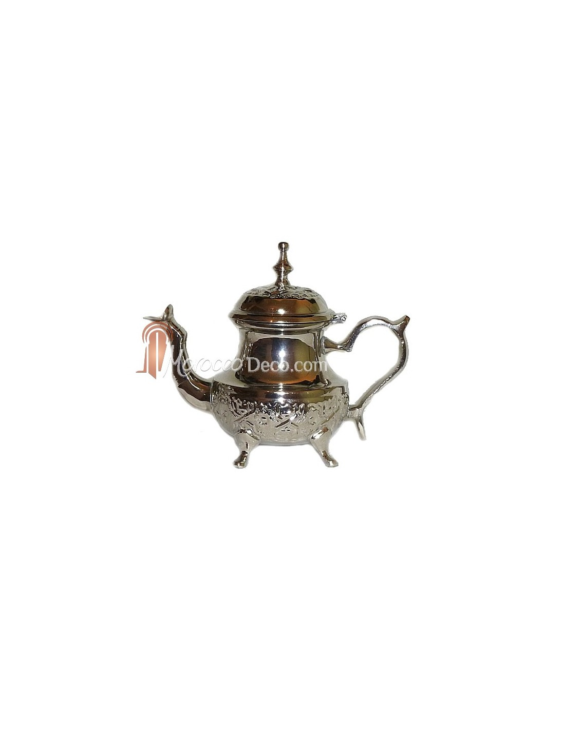 engraved medium moroccan teapot taiga. Black Bedroom Furniture Sets. Home Design Ideas