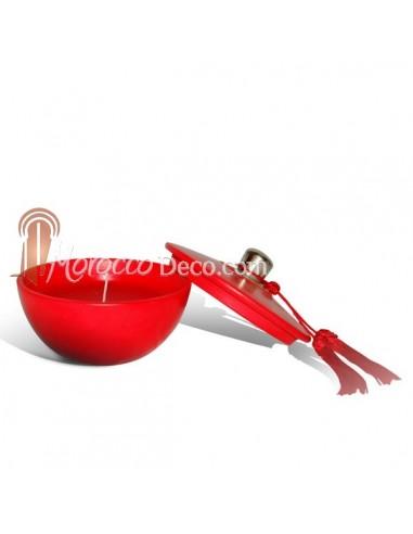 Bougie parfumée demi boule design