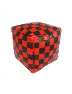 https://moroccodeco.com/poufs/263-pouf-en-cuir-rouge-et-noir-design-carreaux.html