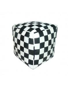 https://moroccodeco.com/poufs/264-pouf-en-cuir-blanc-et-noir-design-carreaux.html