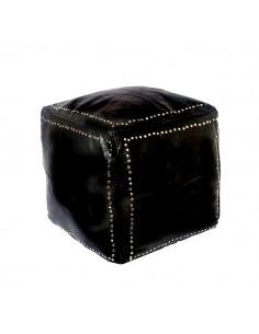 https://moroccodeco.com/poufs/265-pouf-carre-noir-en-cuir-boutons-argent.html