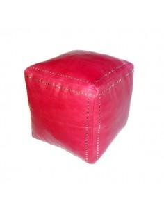 https://moroccodeco.com/poufs/266-pouf-carre-rouge-en-cuir-boutons-argent.html