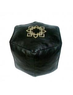 https://moroccodeco.com/pouf-marocain-hexagonale-noir