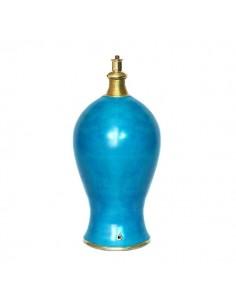 Pied de lampe Marrakech turquoise