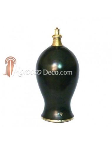 Pied de lampe Marrakech noir