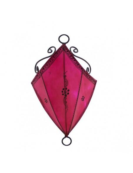 Applique fer forgé Marrakech rose