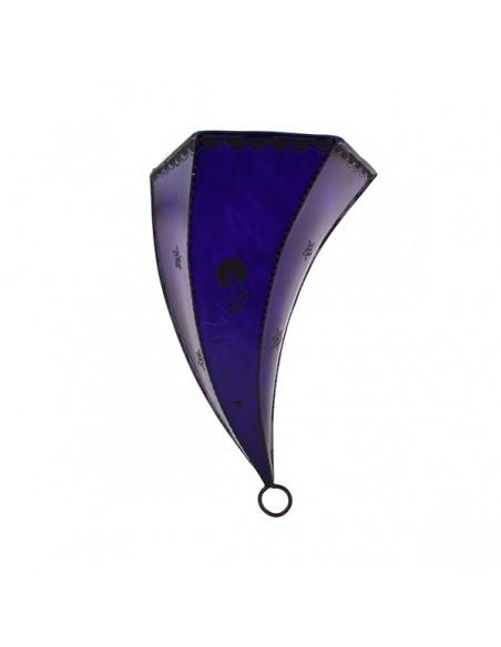 Applique fer forgé Amira violet