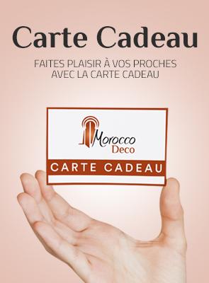 Carte cadeau Moroccodeco